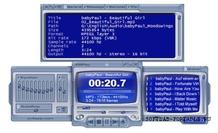 XMPlay 3.8.2 Portable