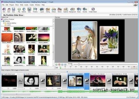Photodex ProShow Producer 7.0.3518 Portable