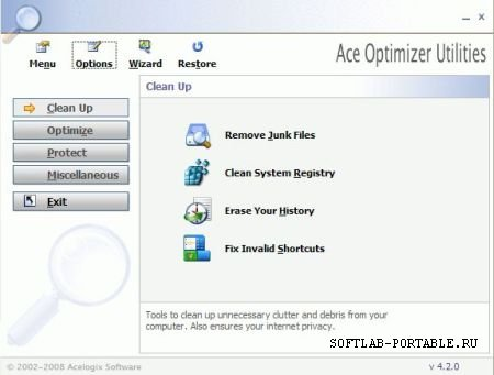 Ace Utilities 6.0 Build 282 Portable