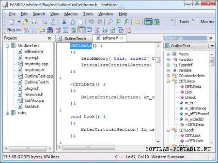 EmEditor Pro 16.1.2 Portable