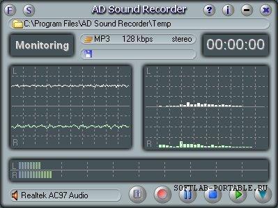Adrosoft AD Sound Recorder 5.6.4 Portable