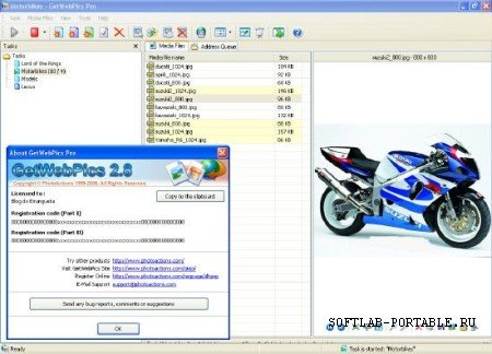 Photoactions GetWebPics Pro 2.8 Portable