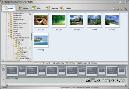 Wondershare Flash SlideShow Builder 4.2.0 Portable