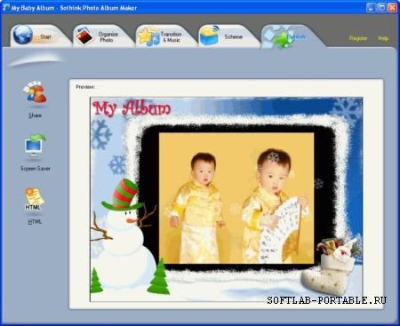 Sothink Photo Album Maker 1.0.80504 Portable