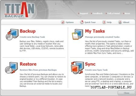 Titan Backup 2.3.0.97 Portable
