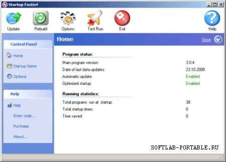 Startup Faster 3.0.4 Portable