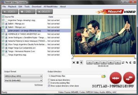 Need4 Video Converter 5.7 Portable