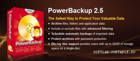 CyberLink PowerBackup 2.50.1305 Portable