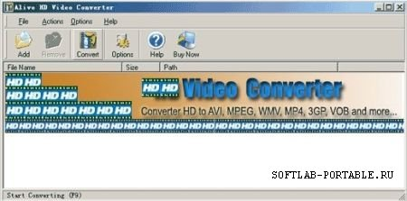 Alive HD Video Converter 1.0.6.9 Portable