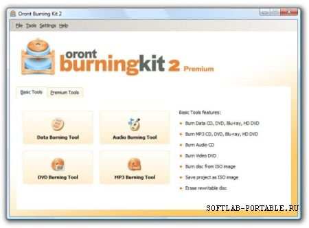 Oront Burning Kit 2 Premium 2.6.1 Portable