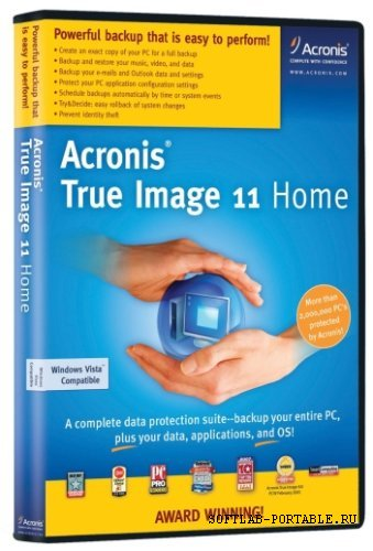 Acronis True Image Home 11.0.8059 Rus (2008) + serial