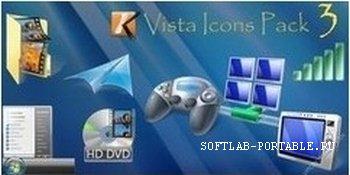 Vista Icons Pack 3.0 (1165 иконок)