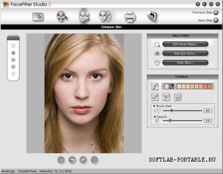 FaceFilter Studio 2.0.1206.1 Portable