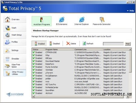 Pointstone Total Privacy 6.55.393 Portable