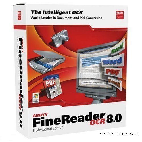 Portable ABBYY FineReader 8.0.0.731 Professional Edition