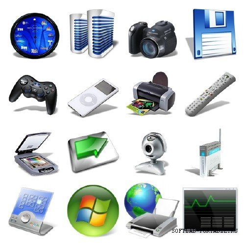 WINDOWS ICONS PACK 2008-2009