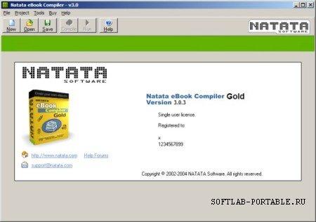 Natata eBook Compiler Gold 3.03 Portable