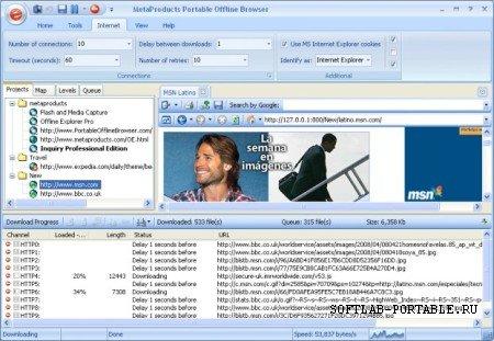 Offline Explorer 7.7.4640 Enterprise Portable