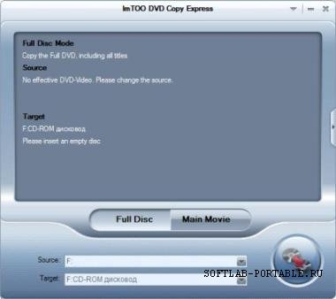 ImTOO DVD Copy Express 1.1.25 build 0801 Portable