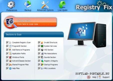 RegistryFix 7.1 Portable