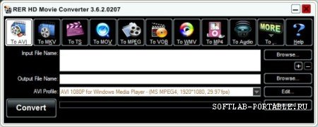 RER HD Movie Converter 3.6.2.0207 Portable