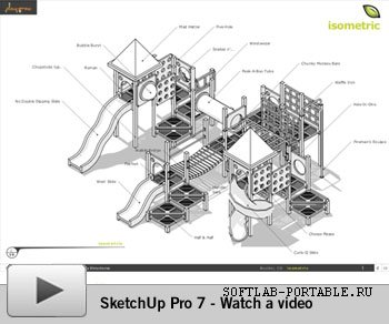 Google SketchUp Viewer 7.0.10247 Portable