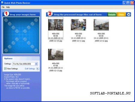 DzSoft Quick Photo Resizer 2.6.2.1 Portable