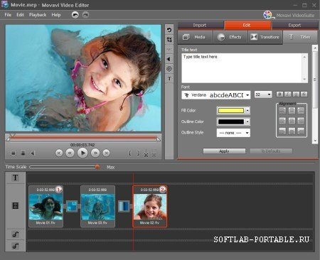 Movavi Video Editor 20.2.0 Portable