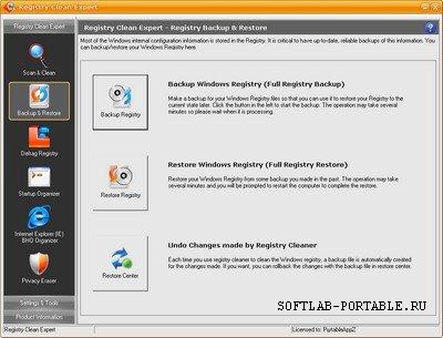 Registry Clean Expert 4.82 Portable