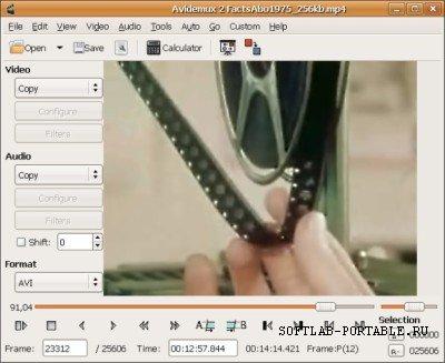 Avidemux 2.7.1 Portable