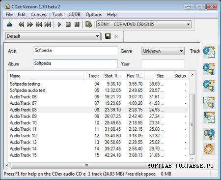 CDex 2.09 Portable