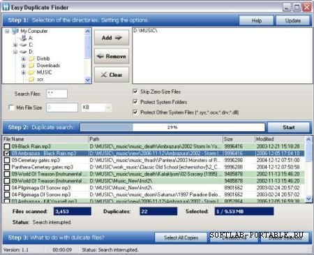 Easy Duplicate Finder 2.4 Portable