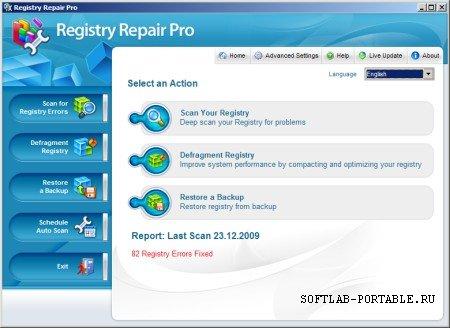 Registry Repair Pro 4.0 Portable