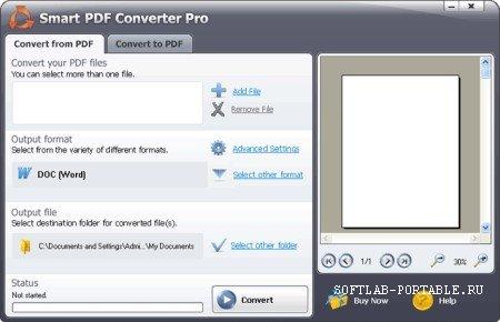 Smart PDF Converter Pro 4.2.3.264 Portable