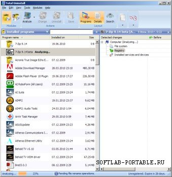 Total Uninstall Pro 6.22.1.505 Portable