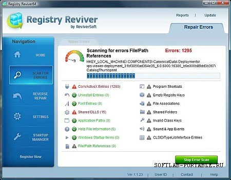 Registry Reviver 4.12.0.10 Portable