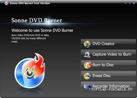 Sonne DVD Burner 4.3.0.2162 Portable