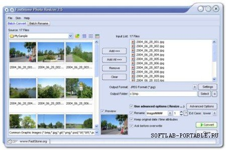 FastStone Photo Resizer 3.7 Portable