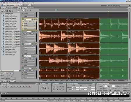 Adobe Audition CС 12.0.0.241 Portable