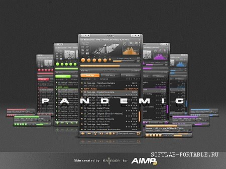 AIMP Audio Player 4.50.2042 Final Portable