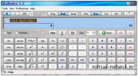 Kalkules 1.10.0.26 Portable