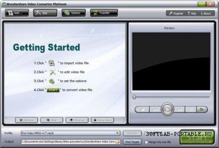 Wondershare Video Converter Ultimate 10.2.2.161 Portable