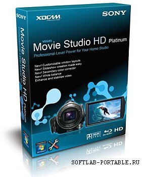 SONY Vegas Movie Studio HD Platinum 11.0 Portable