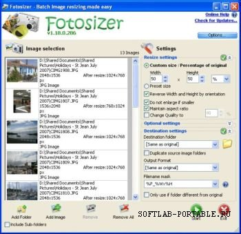 Fotosizer 3.7.0.565 Portable