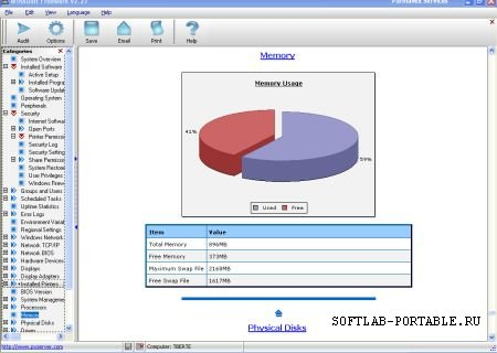 WinAudit 3.12 Portable