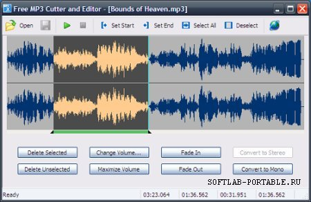 MP3 Cutter and Editor 2.8.0.1306 Portable