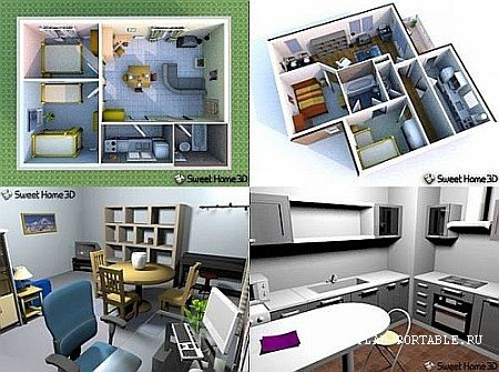 Sweet Home 3D 6.5 Portable