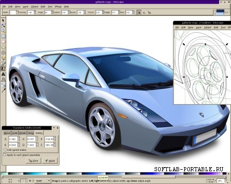 Inkscape 1.0.2 Portable