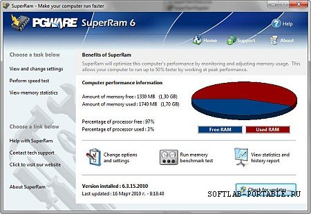 PGWARE SuperRam 7.2.11.2019 Portable
