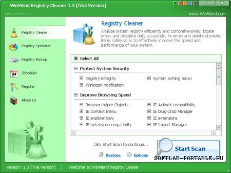 WinMend Registry Cleaner 2.2.0 Portable